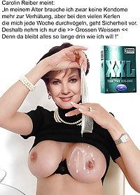 german celeb mature bitch Carolin Reiber