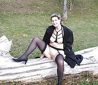 solo mix Mature stockings
