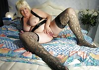 solo mix Mature stockings