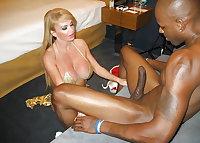 Mature wives having some interracial fun
