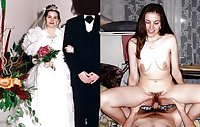 Exposed Slut Wives - Before and After 213