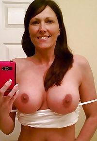 Mature and milf selfie