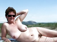 Mature women on the beach - 6