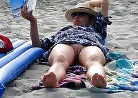 Mature women on the beach - 6