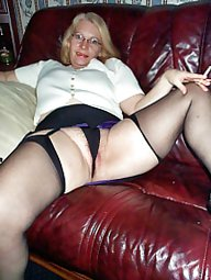 MILF in girdles and nylon