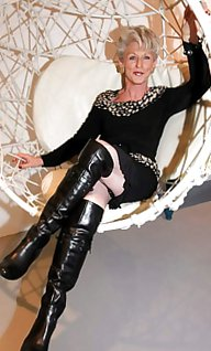 Hot MATURES  MILFS In BOOTS...(2)