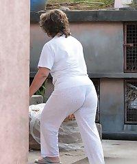 Hidden Camera - Big Mature Butt - Ass Voyeur