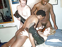 black bull mounts wife cuckold