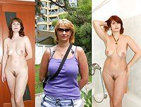 DRESSED & UNDRESSED: STUNNING TEENS & MILFS 9