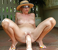Mature with toys and other insertions