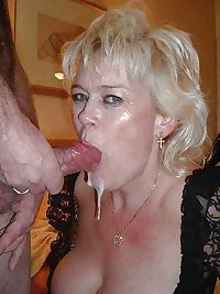 Moms takes and swallow cum