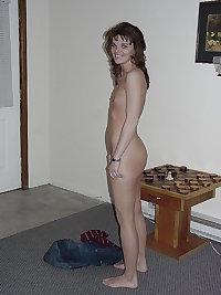 Amateur mature granny skinny tiny tits