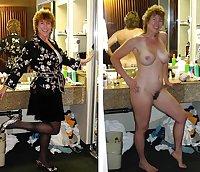 Still More Dressed Undressed Mature Beauties