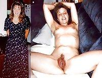 Mature Moms Dressed Undressed