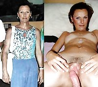 Mature Moms Dressed Undressed