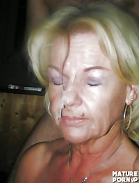Mature Faces for cum