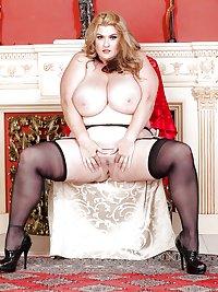 Mature BBWs in stockings 36