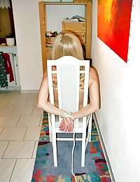 Chair Bondage - Sluts Tied and Exposed