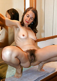 Beautiful Hairy Matures 8 by TROC