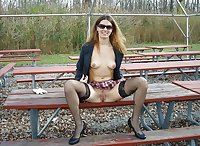 Upskirt, Flashing, candid images from girls and matures
