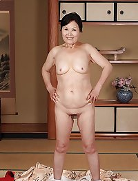 Japanese mature clothed and nude