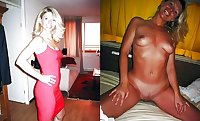 Exposed Slut Wives - Before and After 214