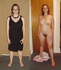 dressed undressd hairy