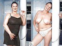 Dressed & undressed ladies