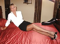 Only the best amateur mature ladies in pantyhose 1.